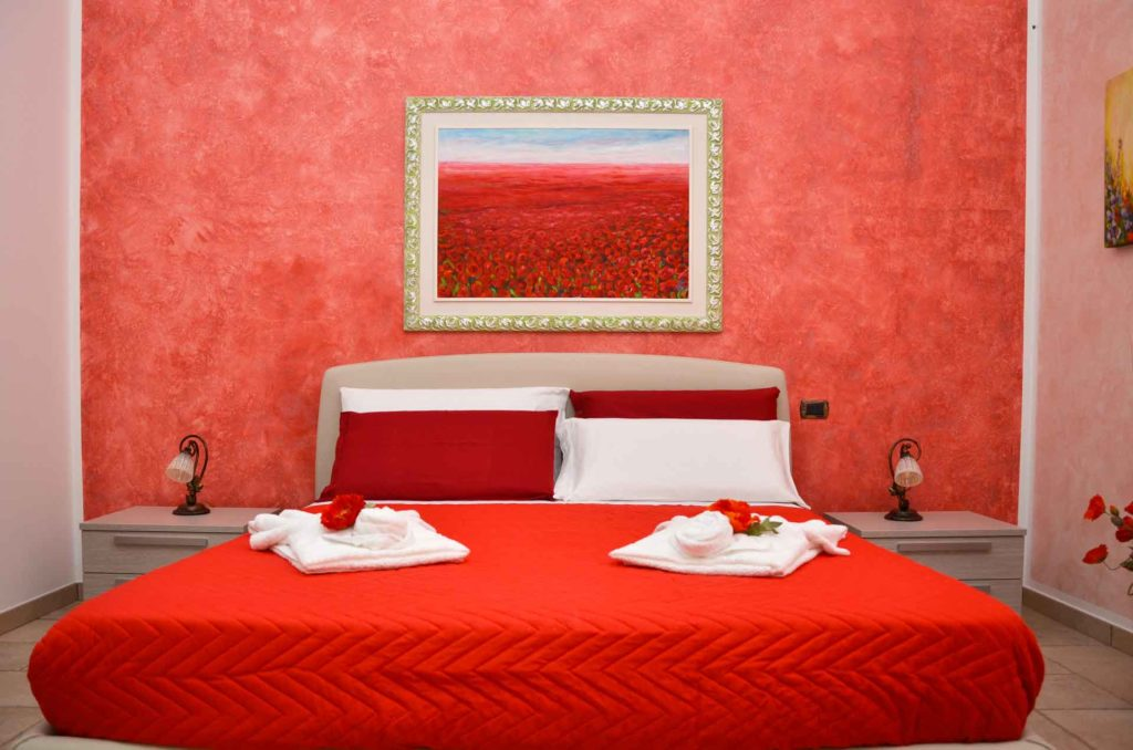 Camera Terra Rossa - B&B Anemos - Morciano di Leuca - Spiaggia di Pescoluse - Lecce - Salento