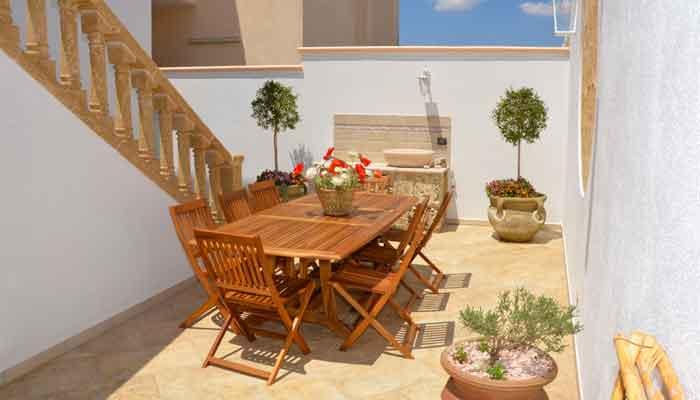 B&B Anemos - Morciano di Leuca - (Lecce), Salento - Ottima e abbondante colazione servita all'esterno o nella sala colazione itenra
