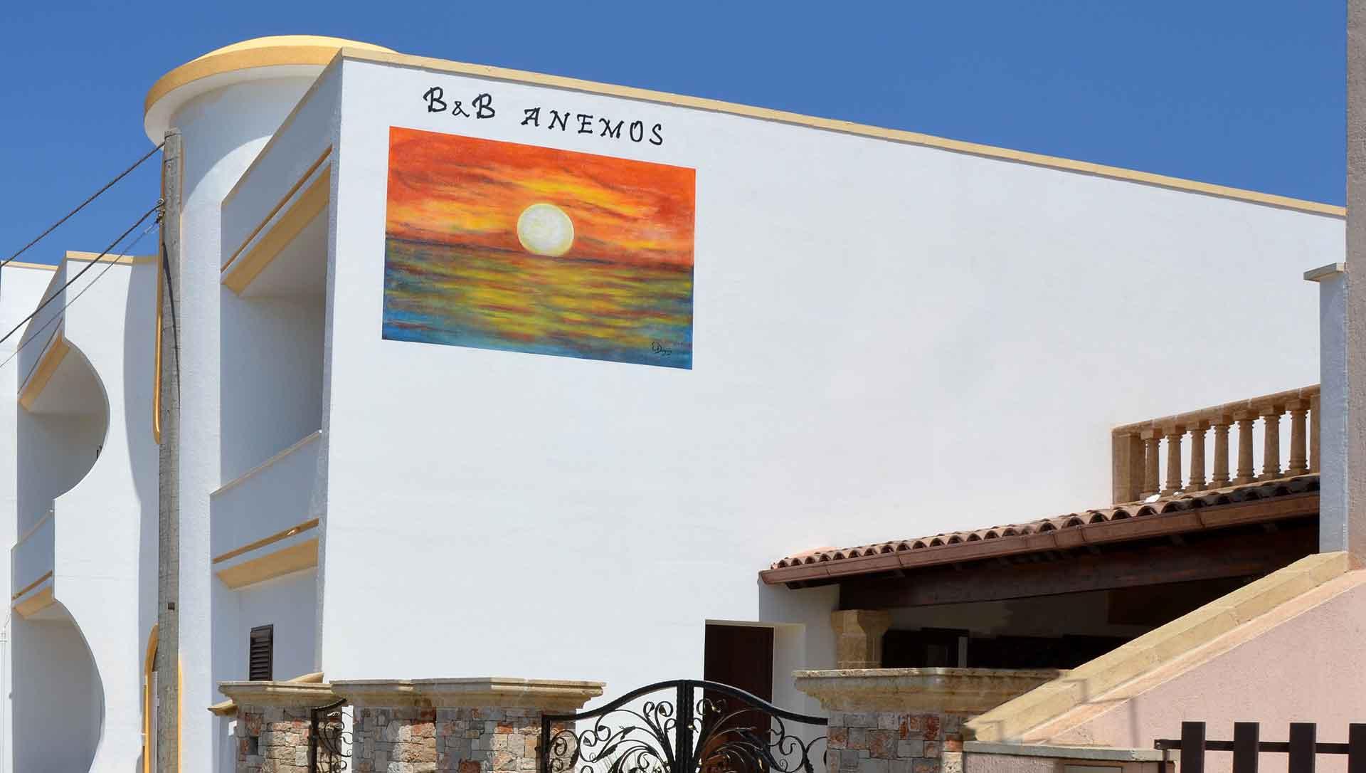 B&B Anemos - Morciano di Leuca - (Lecce), Salento - A pochi km dalla spiaggia di Pescoluse