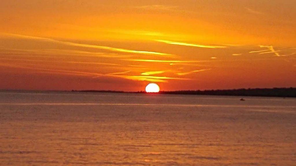 tramonto nel salento